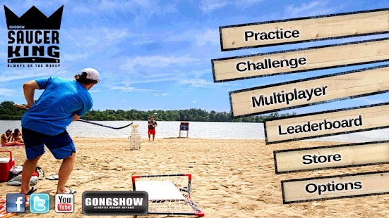 Gongshow Saucer King - screenshot thumbnail