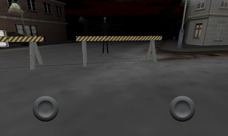 Slender in Booze District - screenshot