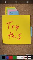 Screenshot of Note Board
