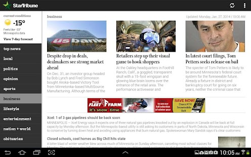 Star Tribune News - screenshot thumbnail