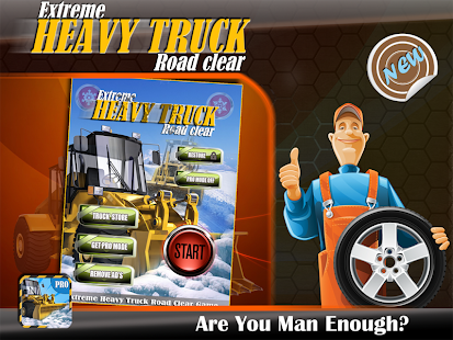 Extreme Heavy truck road Clear