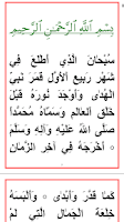 Screenshot of Manqoos Moulid With Audio