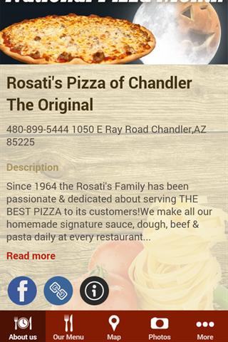Rosati's Pizza Pub of Chandler