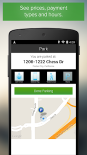 Parker, Find available parking - screenshot thumbnail