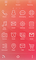 Screenshot of GO Big Theme——Ginny