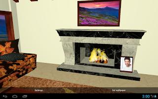 Screenshot of 3D Romantic Wallpaper HD