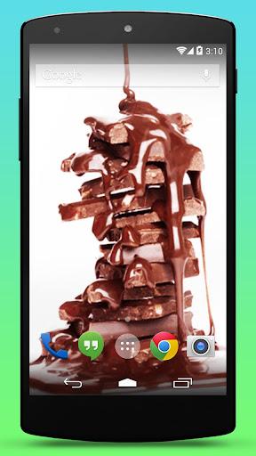 巧克力的动态壁纸