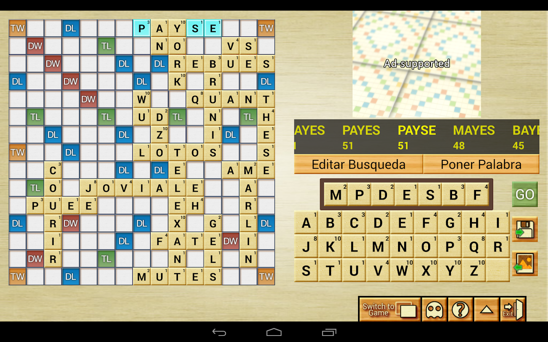 Word Breaker (Scrabble Cheat) - screenshot