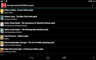 Screenshot of EBook Reader & EPUB Reader