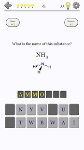 Chemical Substances - Chemistry Quiz- screenshot thumbnail