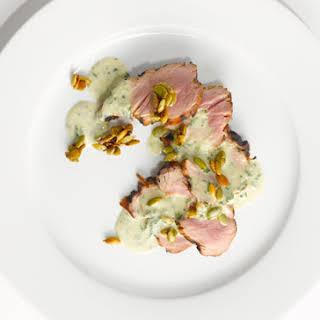Green Curry Pork Tenderloin.
