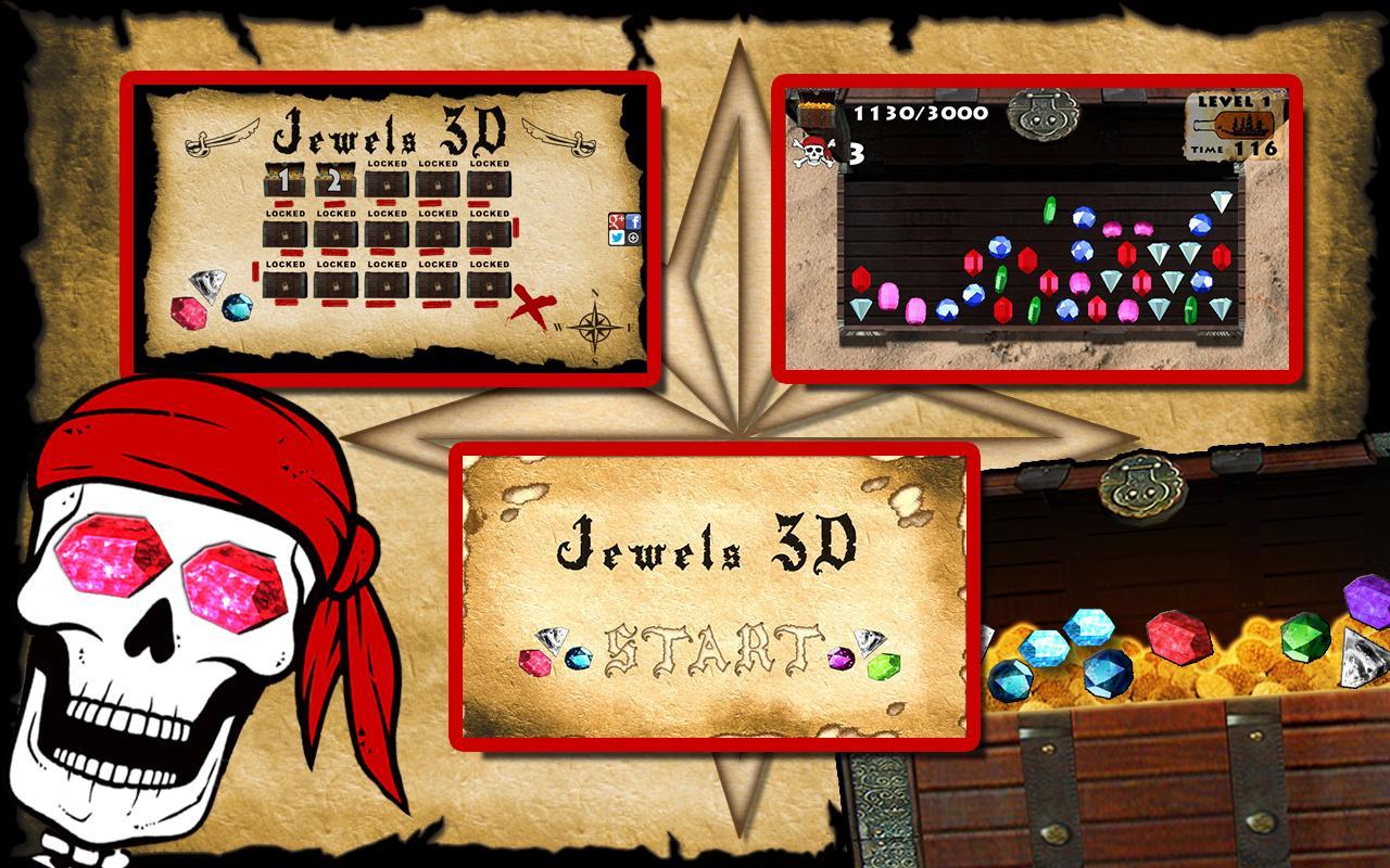 Jewels 3D - screenshot