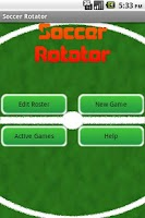 Screenshot of Soccer Rotator