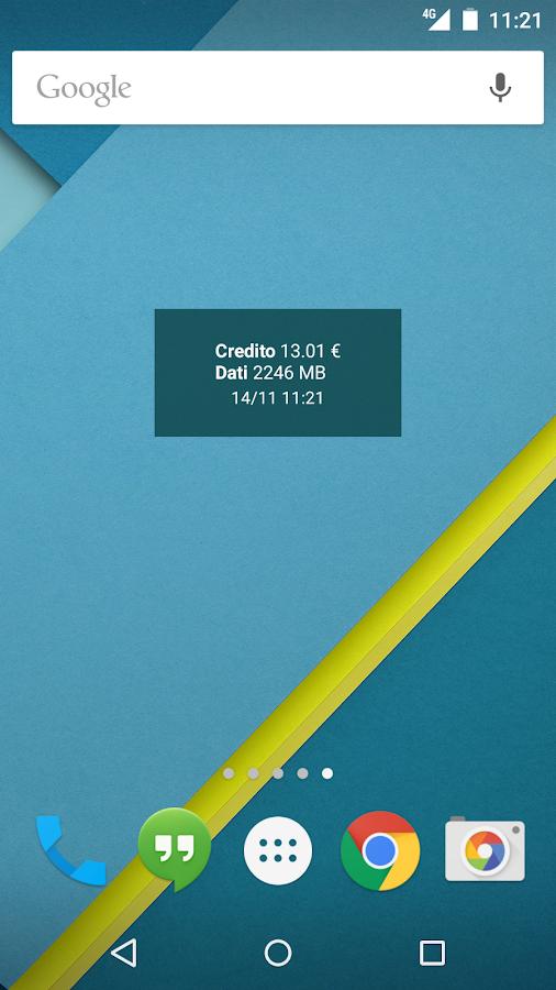 Widget 3 Italia - screenshot