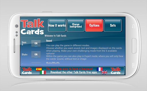 【免費解謎App】Talk Cards English-French-APP點子