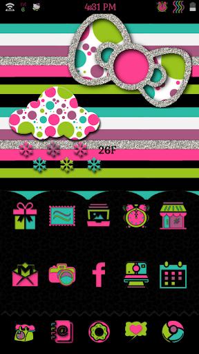 Simple Kitty Go Launcher Theme
