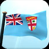 Fiji Flag 3D Live Wallpaper