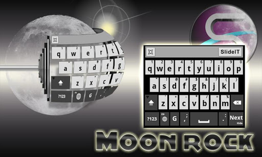 SlideIT Moon Rock Skin