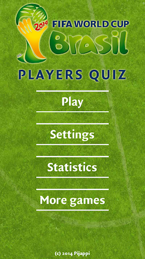 World Cup 2014 Players Quiz