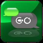 Metallic Green theme for GOSMS icon