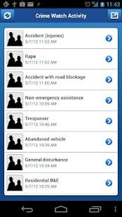 Crime Watch - screenshot thumbnail