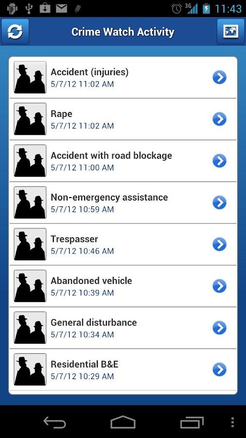 Crime Watch - screenshot