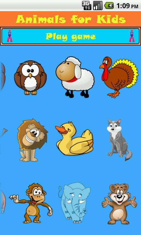 Animals for Kids - screenshot