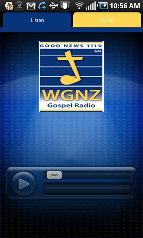 WGNZ Radio - screenshot