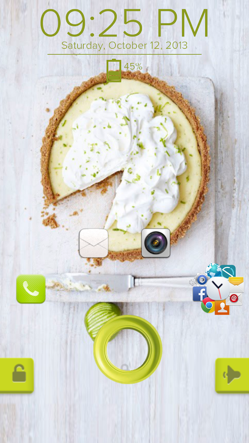 Key Lime Pie - Start Theme - screenshot