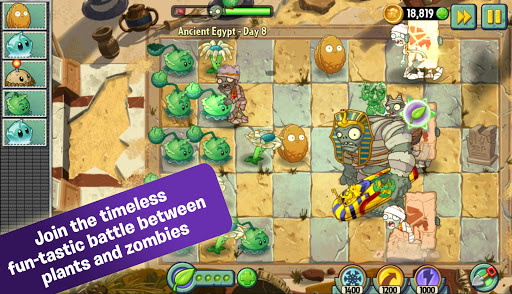 Plants vs  Zombies 2 for Android[Mod Money] - Latest Version