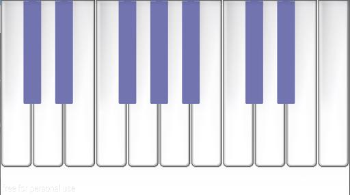 piano default octet