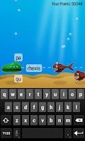Screenshot of Type Sea Monsters Away