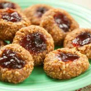 No-Bake Thumbprint Cookies