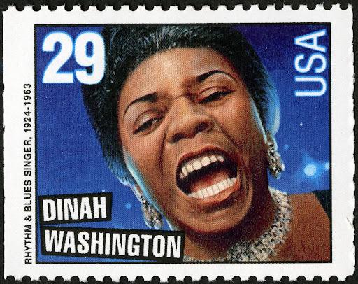 Image result for dinah washington stamp