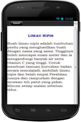 【免費健康App】Petua Kuruskan Badan Berkesan-APP點子