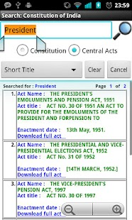 Constitution of India - screenshot thumbnail