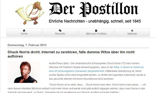 Der Postillon - Premium - screenshot thumbnail