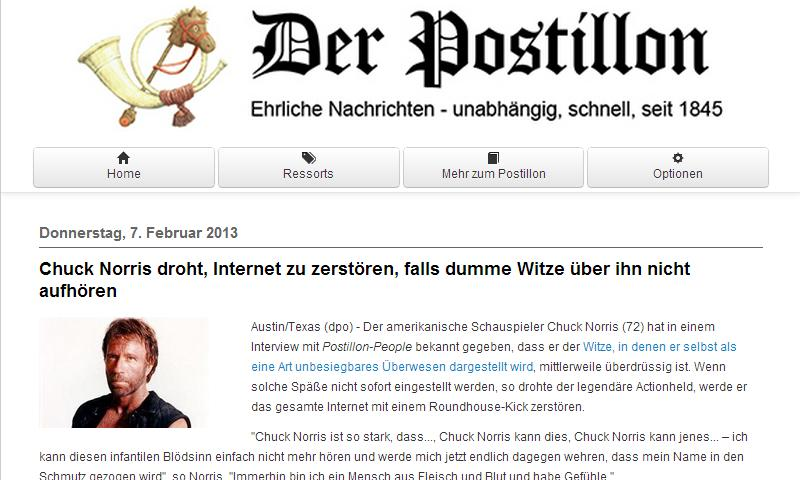 Der Postillon - Premium - screenshot