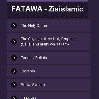 Fatawa - Ziaislamic