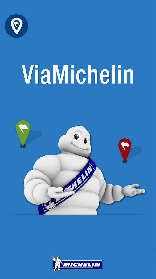 ViaMichelin Route planner,maps- screenshot