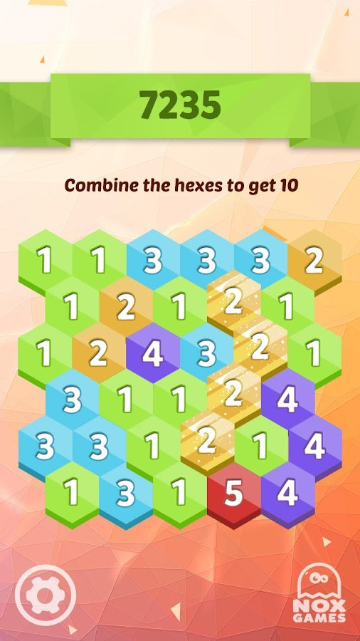 Hex Get 10: Hexic 6x6,7x7,8x8- screenshot