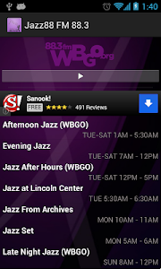 WBGO Jazz 88.3FM screenshot 1