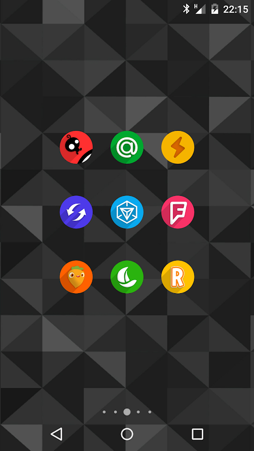 Easy Circle - icon pack- screenshot