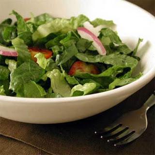 Romaine Salad with Avocado-Lime Vinaigrette