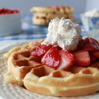 Crispy Light Waffles Recipe