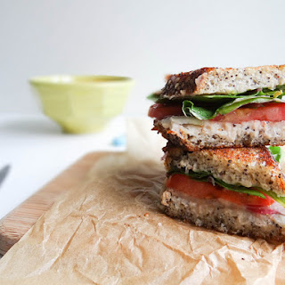Swiss Chard & White Bean Grilled Sammie
