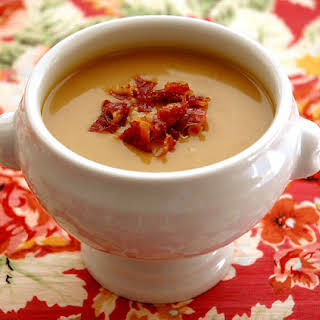 Butternut Squash and Chestnut Soup.