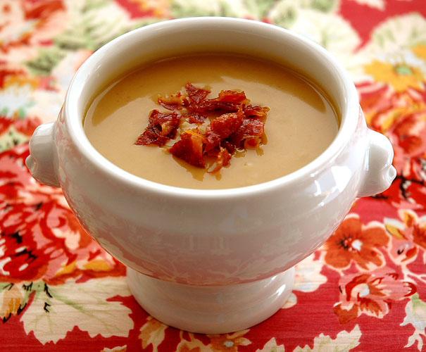 Butternut Squash and Chestnut Soup Recipe