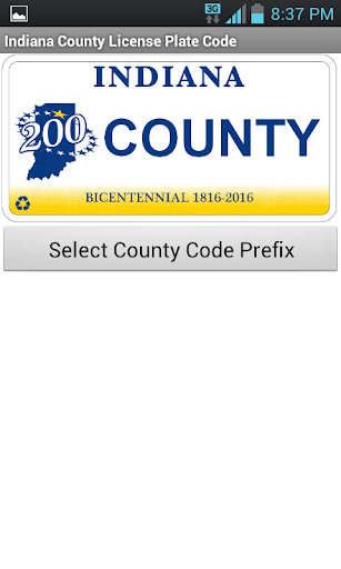 Indiana County Code Tool