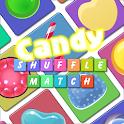 Candy Shuffle Match FREE icon